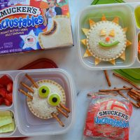School lunch ideas uncrustables