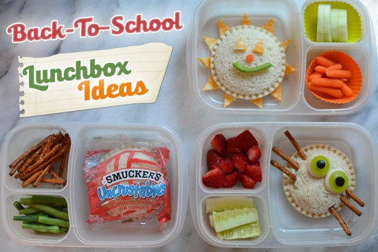 lunchbox ideas uncrustables