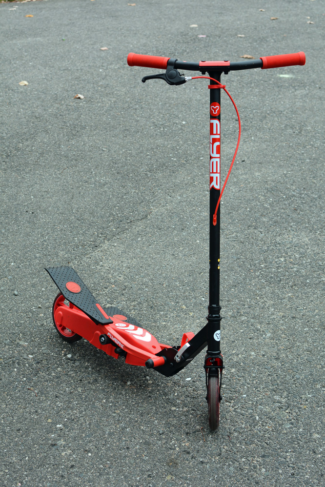 Y Flyer Scooter red