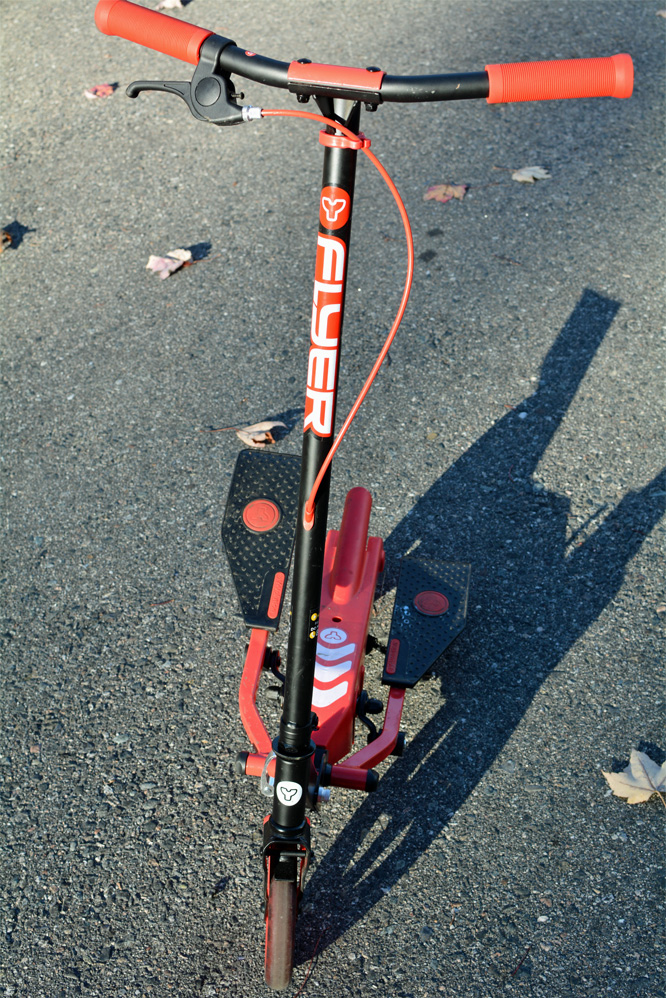 Yvolution Y Flyer Scooter review