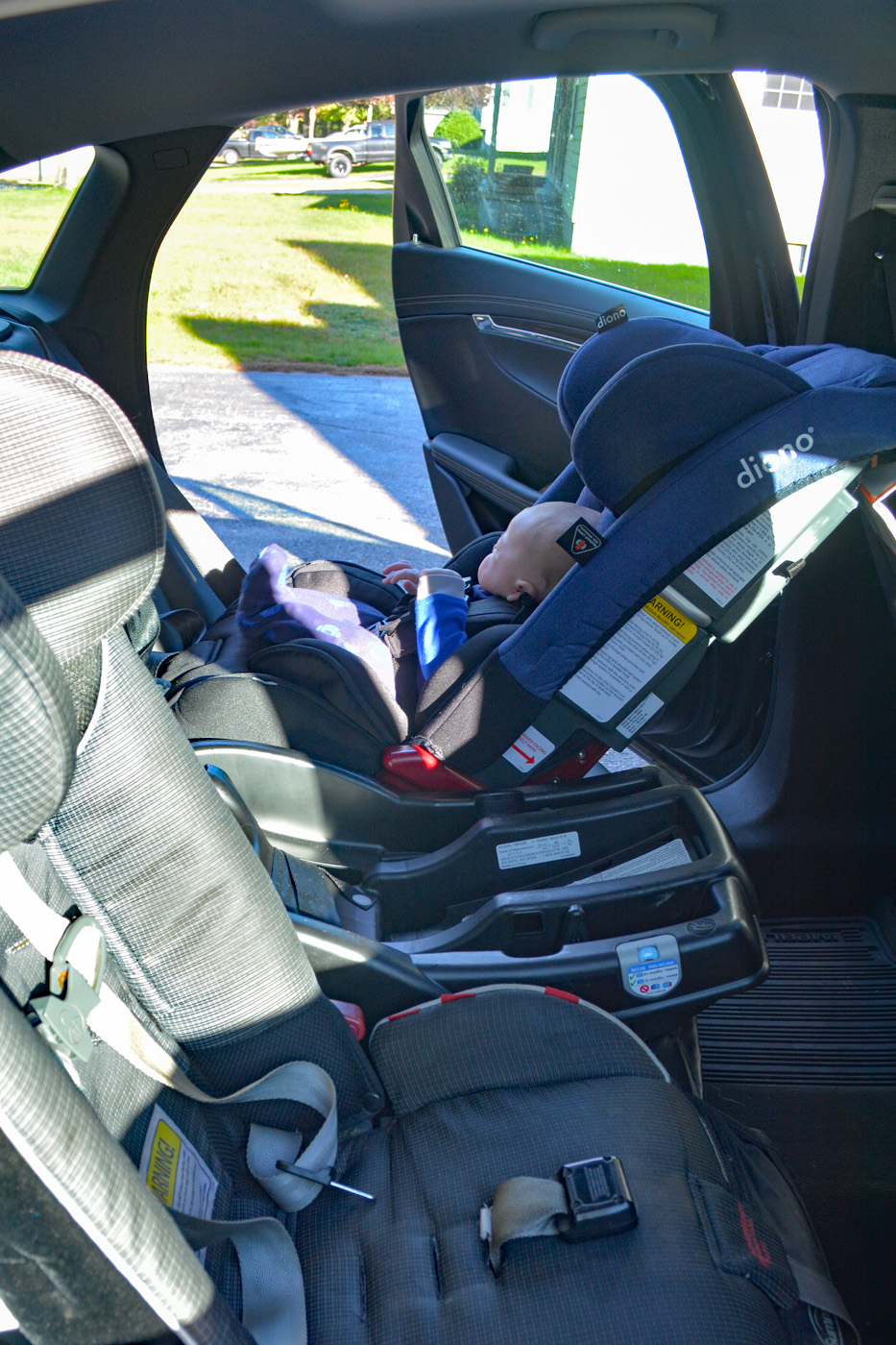 Diono Radian RXT - All in One Convertible Car Seat