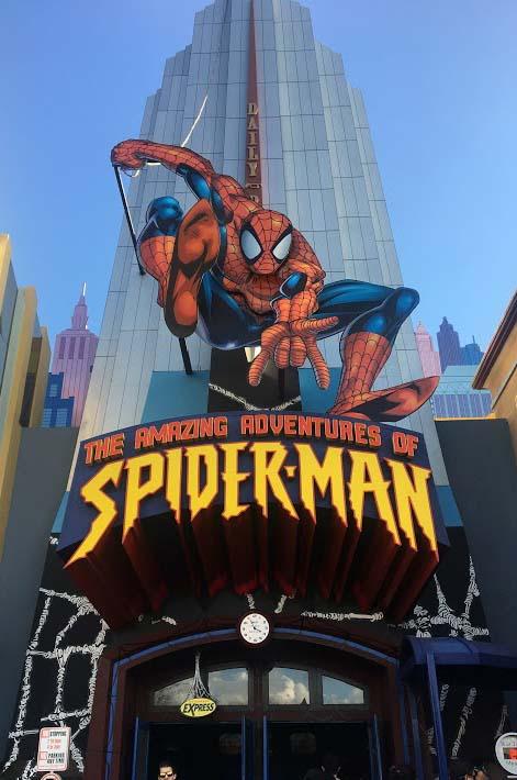 Universal Studios Spiderman