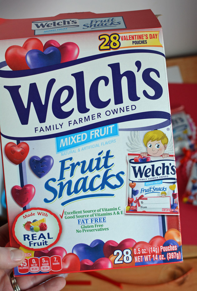 Valentine's Welch's Fruit Snacks
