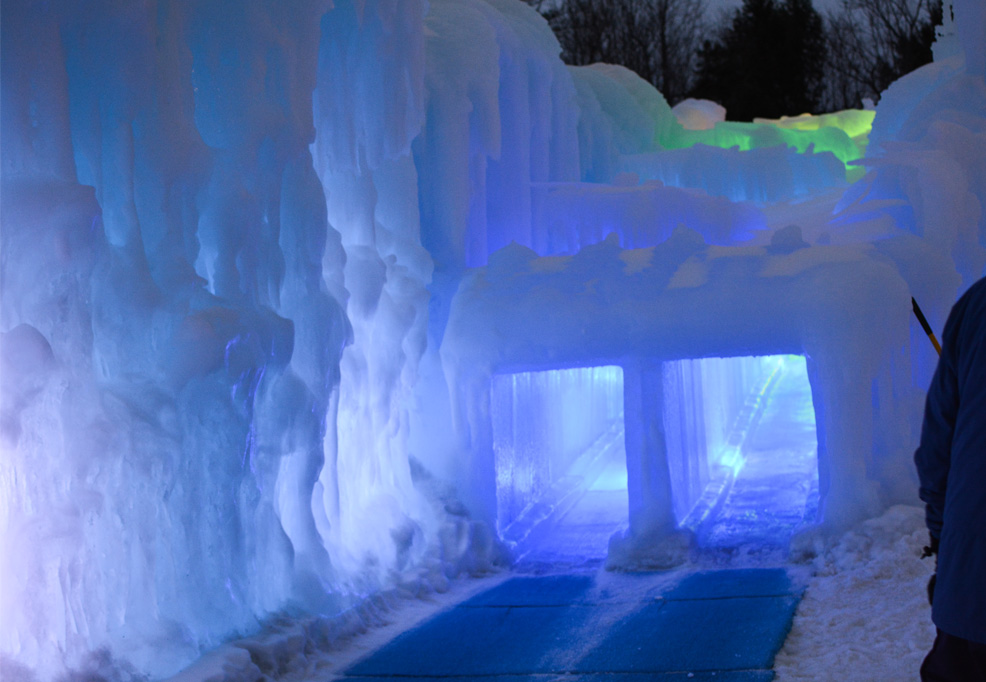 ice castle slide