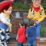 DIsney World Jesse and Woody
