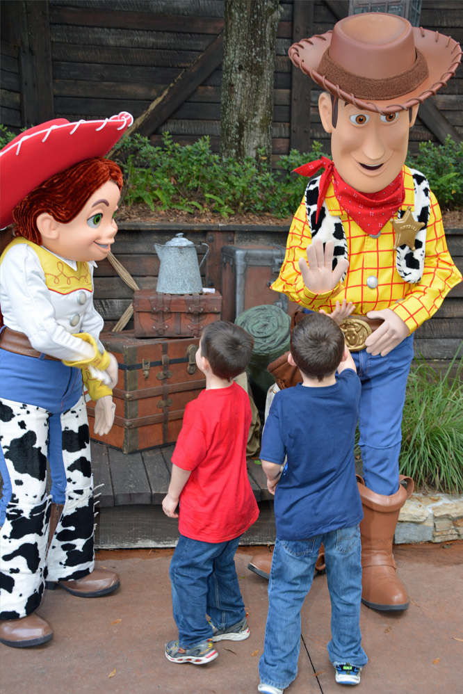 DIsney World Jesse and Woody