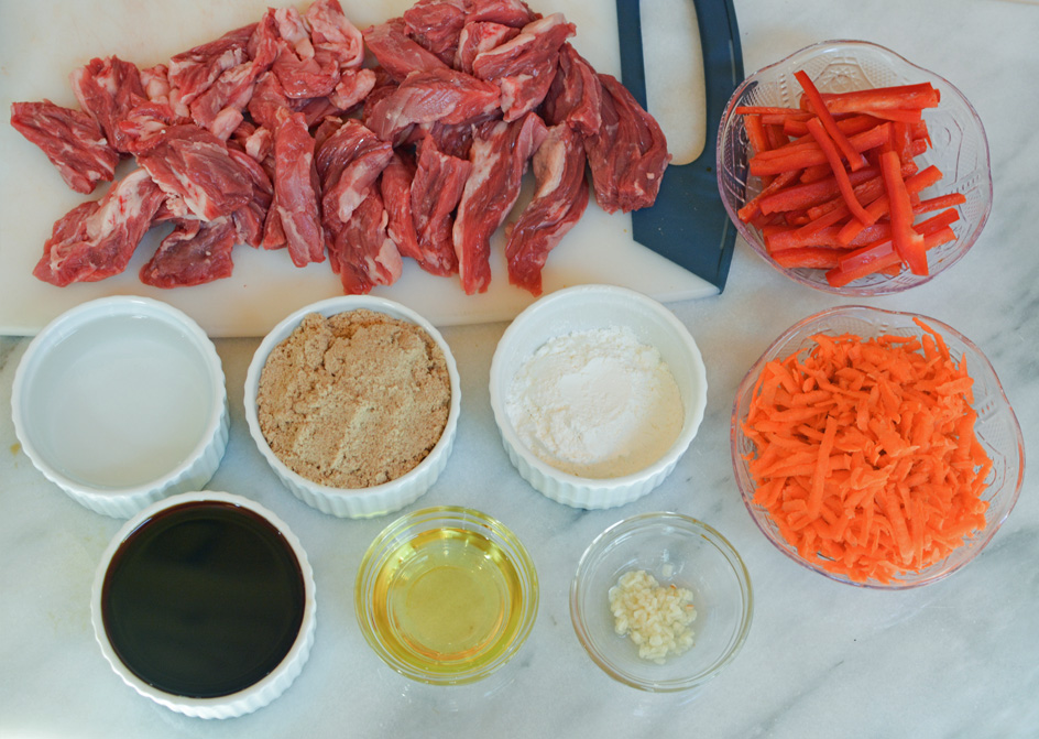 mongolian beef ingredients