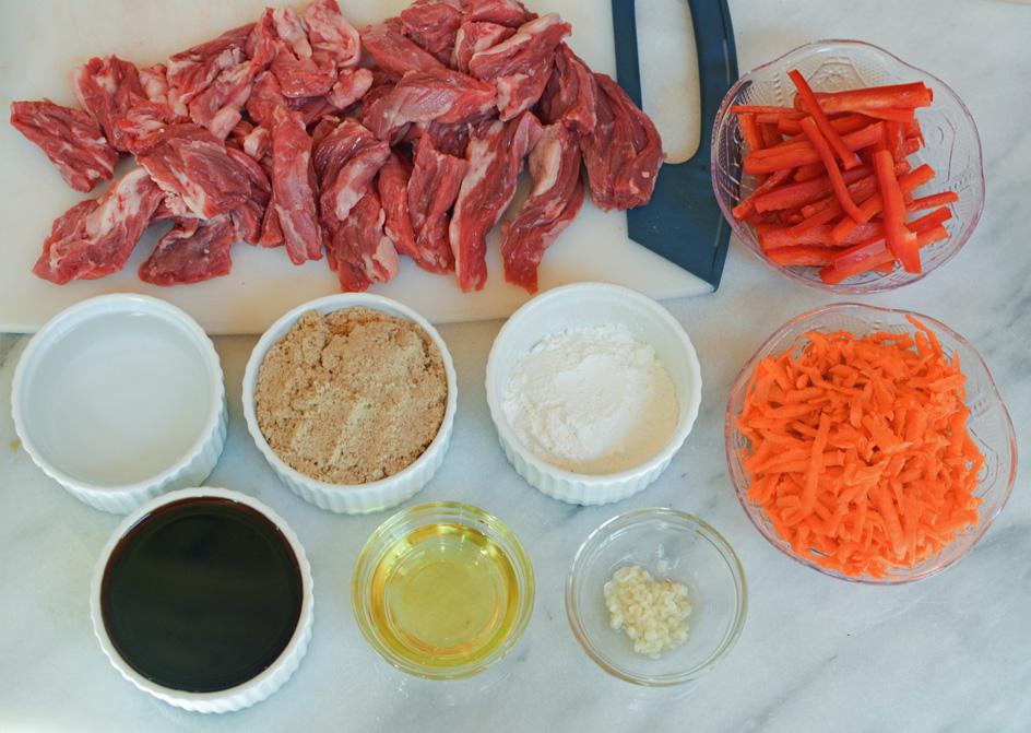 crock pot mongolian beef