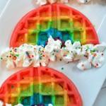 rainbow waffle recipe
