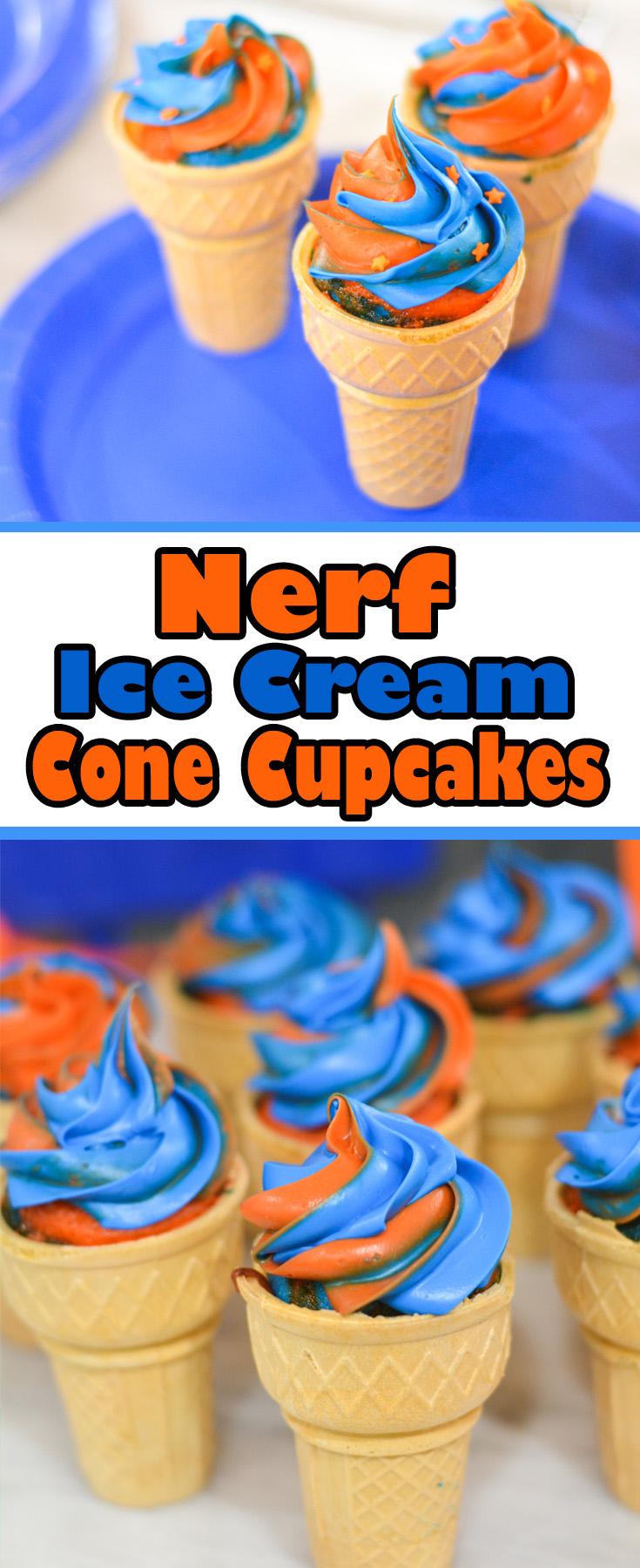nerf cupcakes
