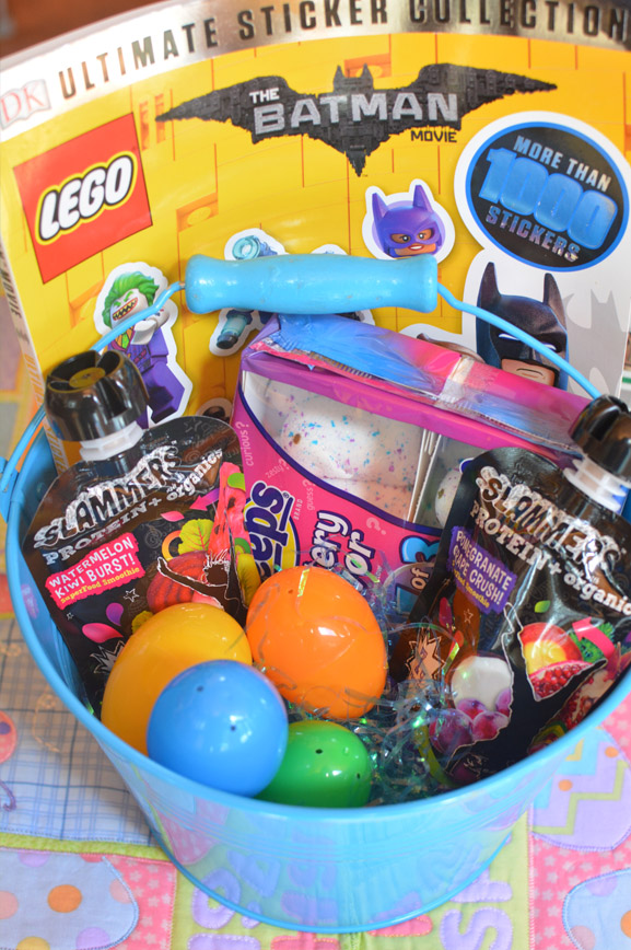 Non candy easter basket ideas mommys fabulous finds easter basket ideas for the lego fan negle Choice Image