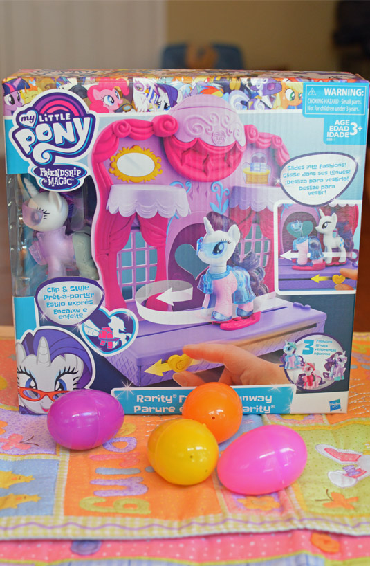 my little pony easter basket