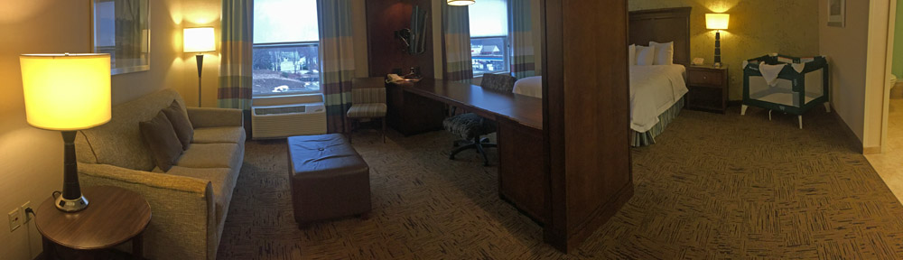 Hampton Inn King Suite