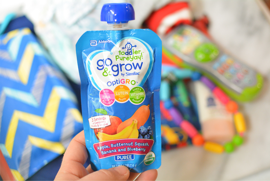 go & grow by similac pouches