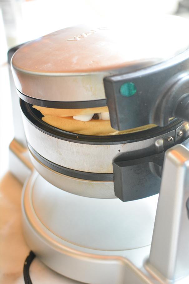 smores belgian waffles
