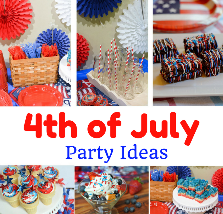 4th of july party decoration dessert ideas mommy 39 s for Fourth of july party dessert ideas
