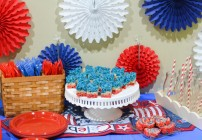 4th of July Desserts + Decoration Ideas