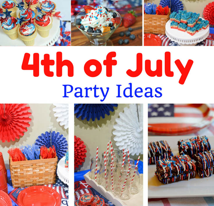 4th of july desserts decoration ideas mommy 39 s fabulous for Fourth of july party dessert ideas