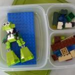Road Trip Hacks to Entertain Kids - Lego box