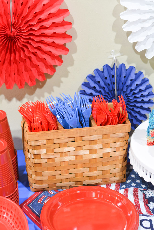 4th of july party ideas utensils