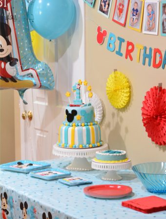 Mickey Fun to Be 1 Birthday Party