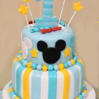 Mickey 1st Birthday Cake