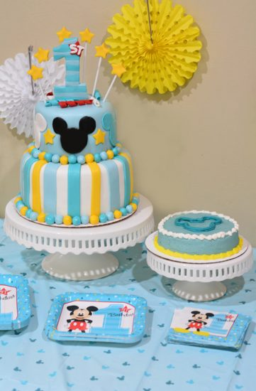 Mickey S Fun To Be One Birthday Party Ideas