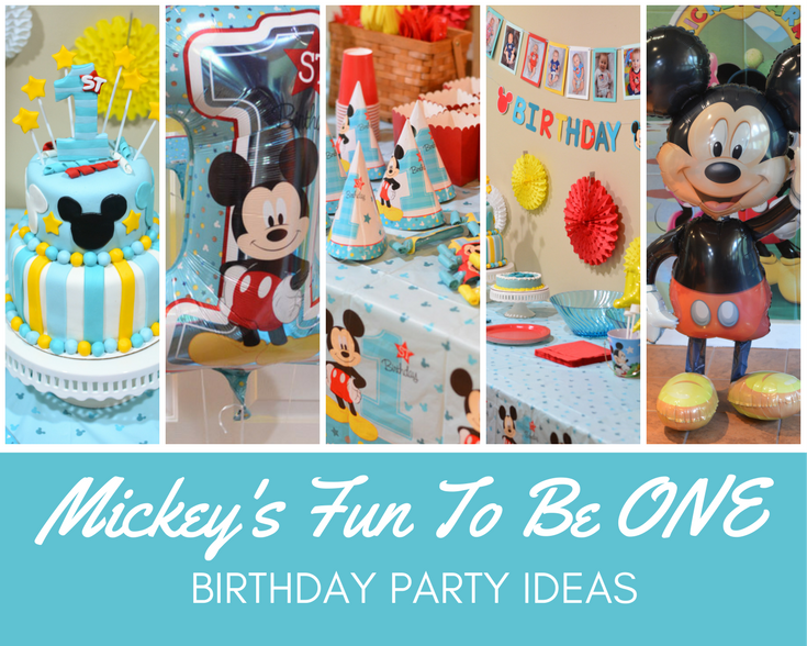 Mickey Birthday Party Decorations