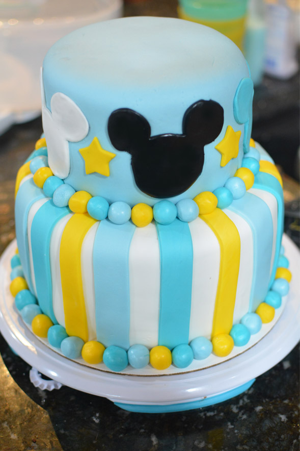 Mikey 1st Birthday Cake