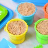 how to make sand pudding