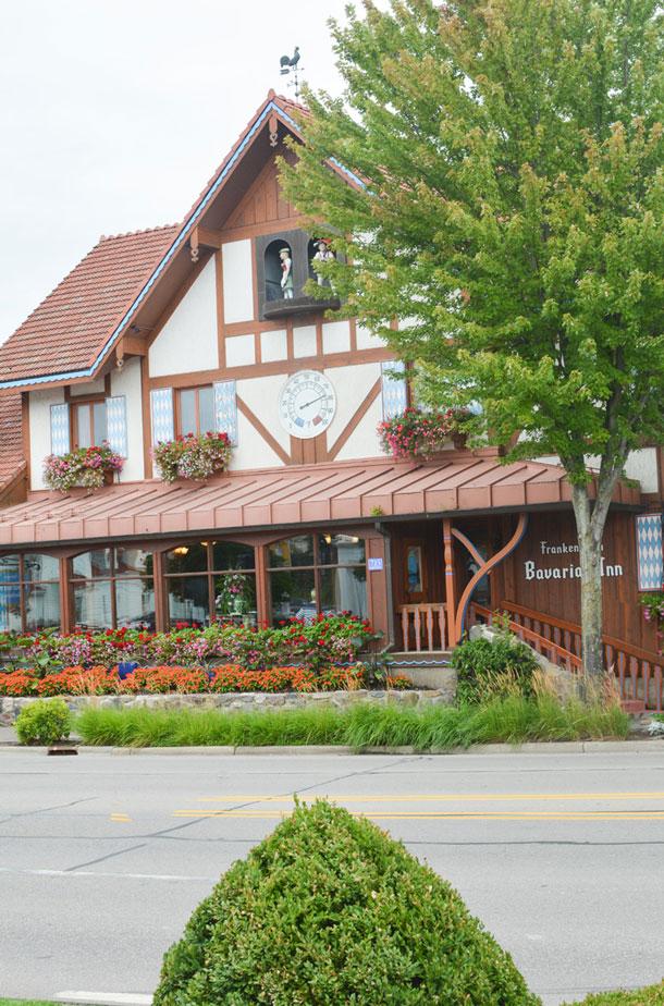 bavararian inn restaurant front