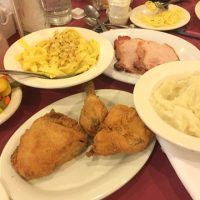 bavarian inn restaurant family style chicken dinner