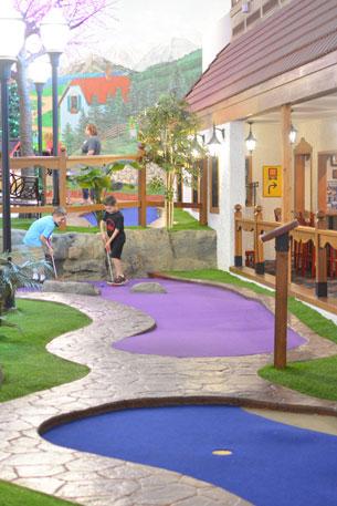 Bavarian Inn Frankenmuth Putt Putt Golf Indoor