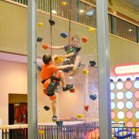 Great Wolf Lodge climbing wall