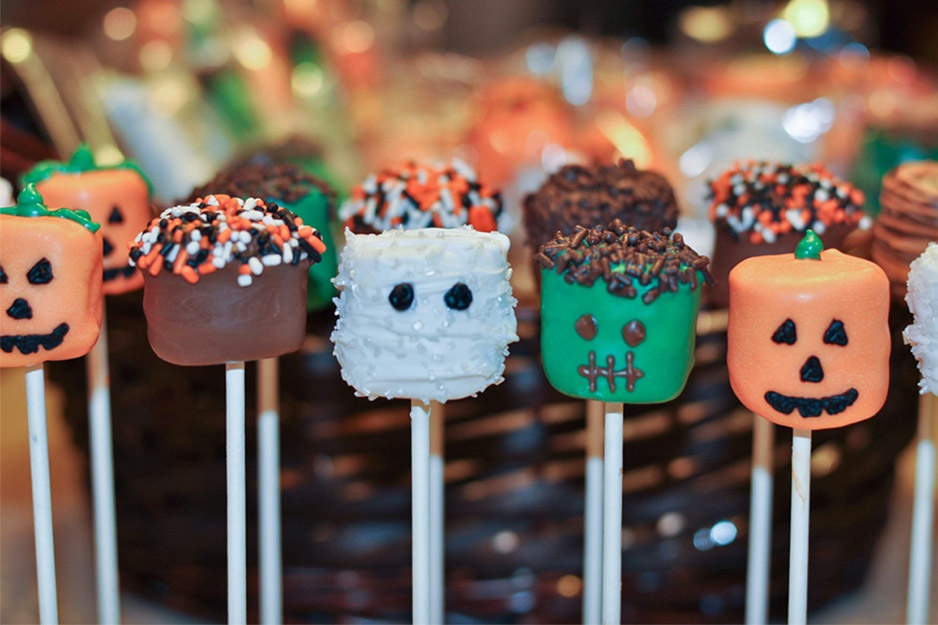 Decorating Cake Pops Easy : Halloween Marshmallow Pops