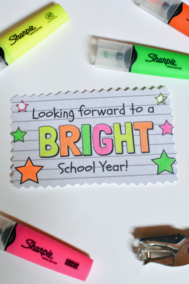 looking forward to a bright school year