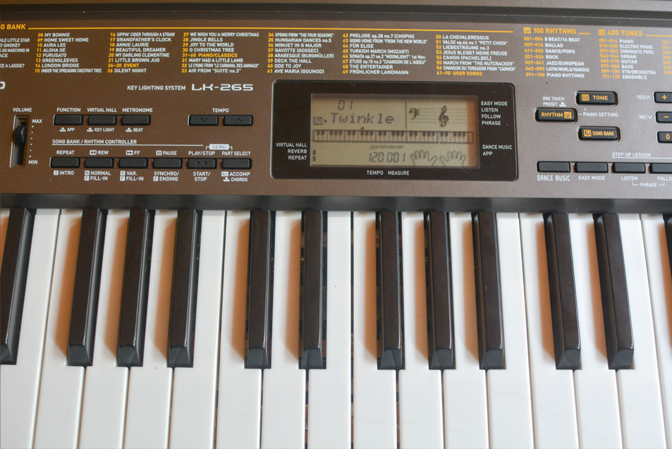 Free casio keyboard manual - Learn How To Play Piano And ...