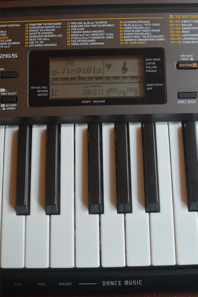 casio beginner keyboard