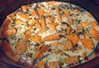 Crock Pot Sweet Potato and Basil Soup