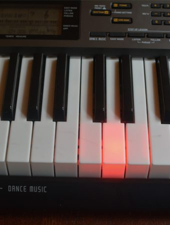 Casio LK-265 keyboard