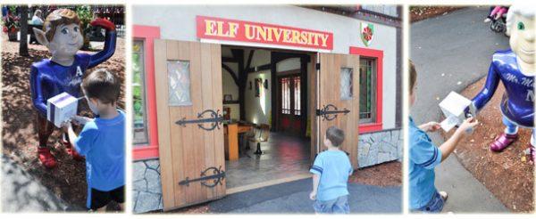 santas village elf university