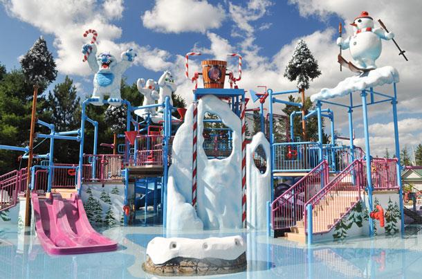 santas village water park