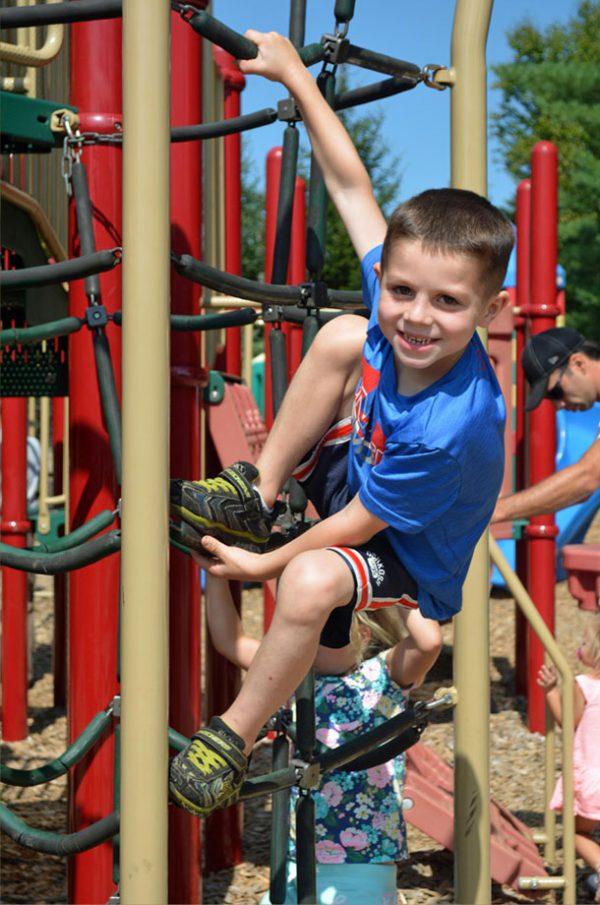 santas village playground