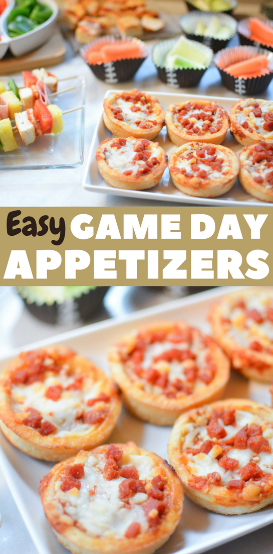 game day appetizers ideas