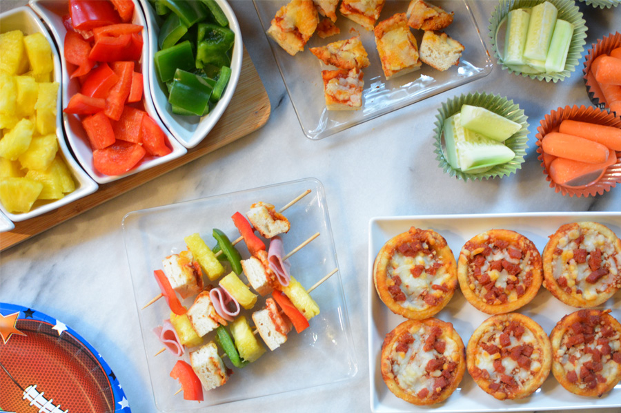 game day pizza appetizers