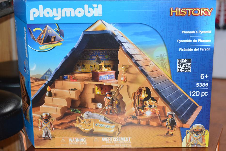playmobil pharaoh's pyramid playset
