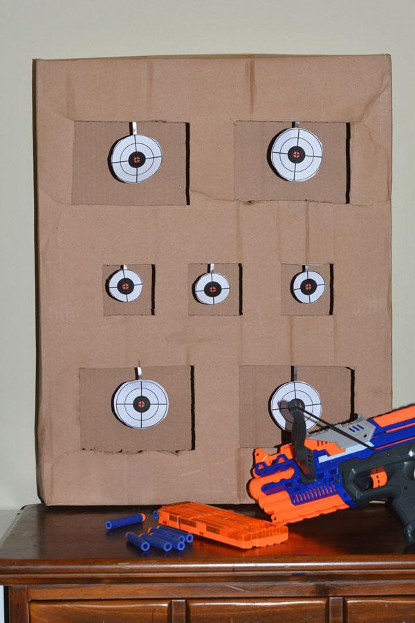 nerf target game