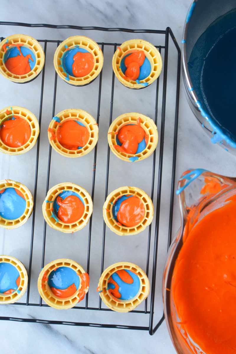 Nerf Party Ideas Nerf Cupcakes