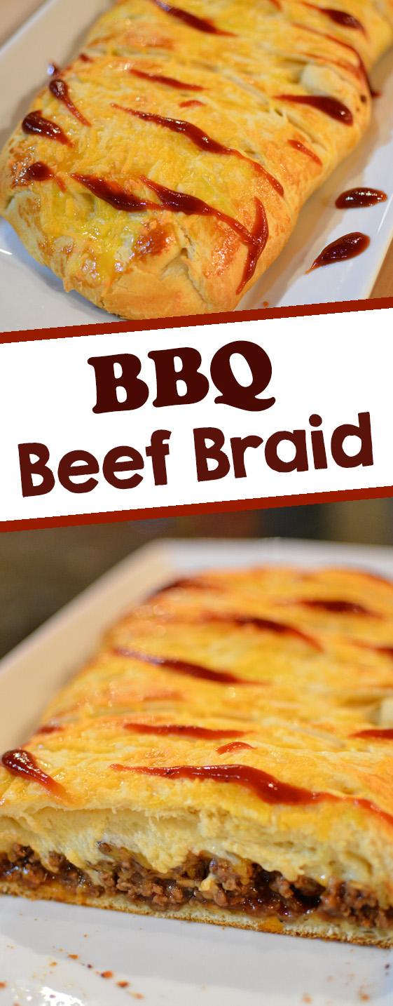BBQ Beef Braid