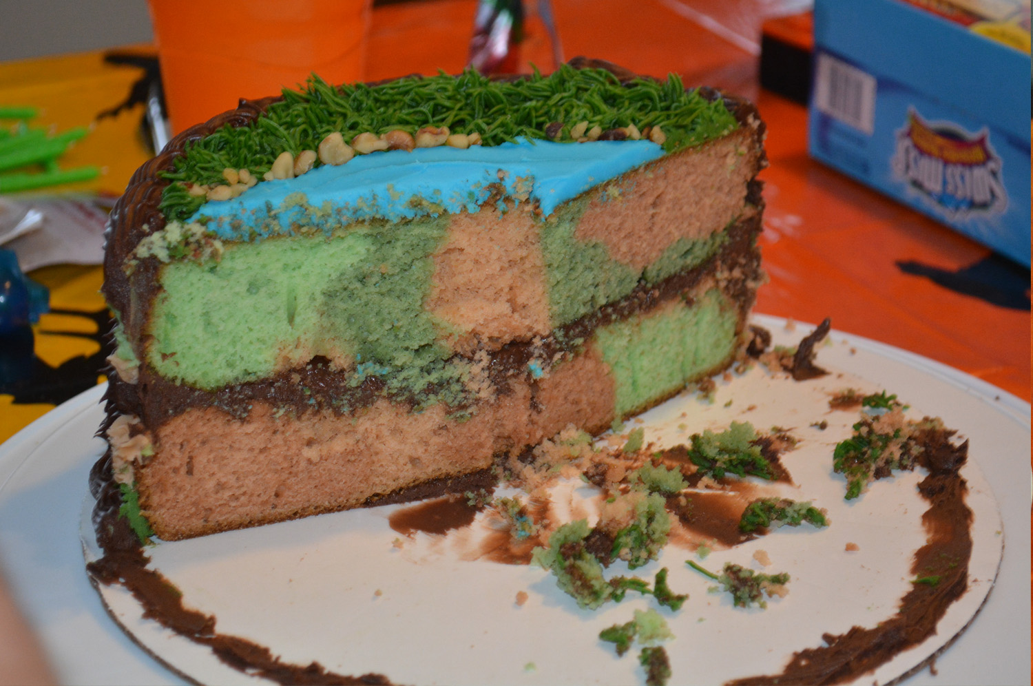 How to Make Camouflage Cake Mommys Fabulous Finds